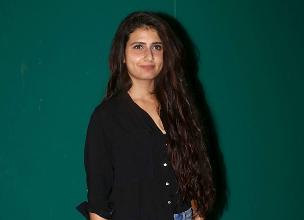 I am very fortunate to be working with Amitabh Bachchan – Fatima Sana Shaikh