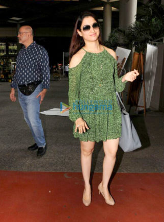 Tammanah Bhatia snapped at the airport