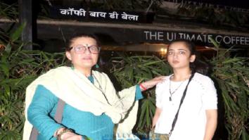 Sarika and Akshara snapped outside Coffee by Di Bella