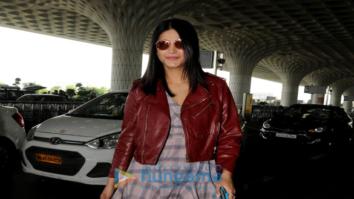 Vaani Kapoor, Shruti Haasan and Aftab Shivdasani spotted at the airport