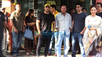 Salman Khan and others at Arpita Khan's Diwali bash