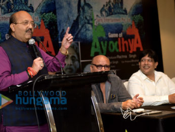 Poster & trailer launch of the film 'Game Of Ayodhya'