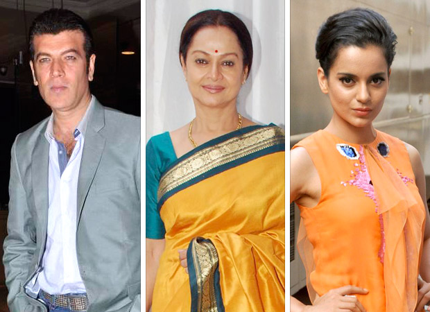Aditya Pancholi and wife Zarina Wahab take legal action against Kangana Ranaut