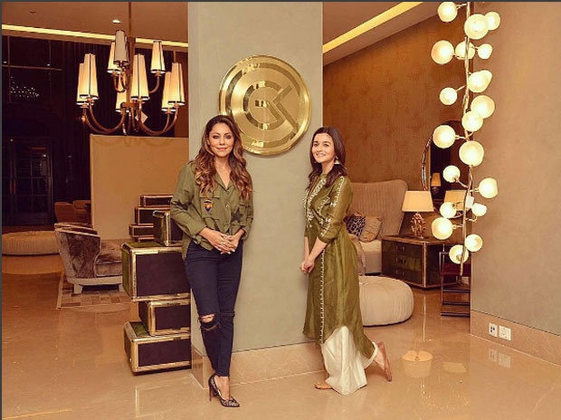 After Ranbir Kapoor, Alia Bhatt visits Gauri Khan's design store