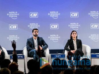 Alia Bhatt and Karan Johar in New Delhi