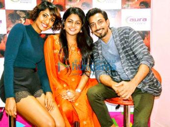 Amit Kumar Vashisth, Teena Singh and Nupur Shrivastava promote 'The Window'