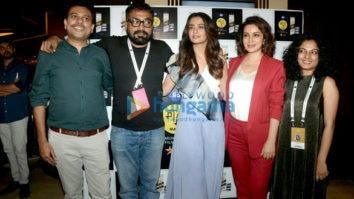 Anurag Kashyap, Neeraj Ghaywan and Tisca Chopra snapped attending a screening at MAMI Film Festival 2017