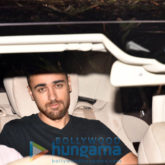 Arjun Kapoor and Imran Khan snapped at a screening at Sunny Super Sound