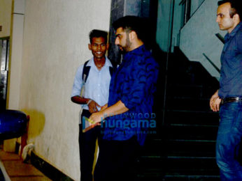 Arjun Kapoor spotted at Ashutosh Govarikar's office in Bandra