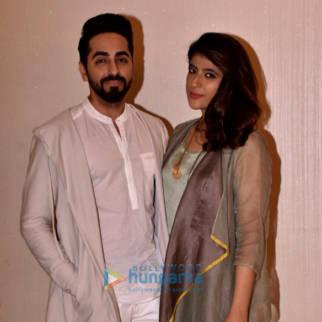 Ayushmann Khurrana snapped with his wife Tahira Kashyap