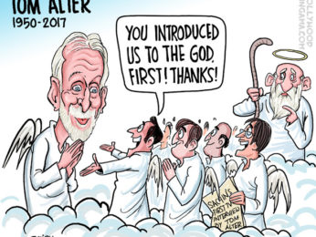 Bollywood Toons RIP Tom Alter