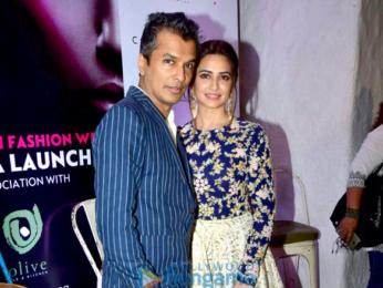 Celebs grace the India Beach Fashion Week press meet