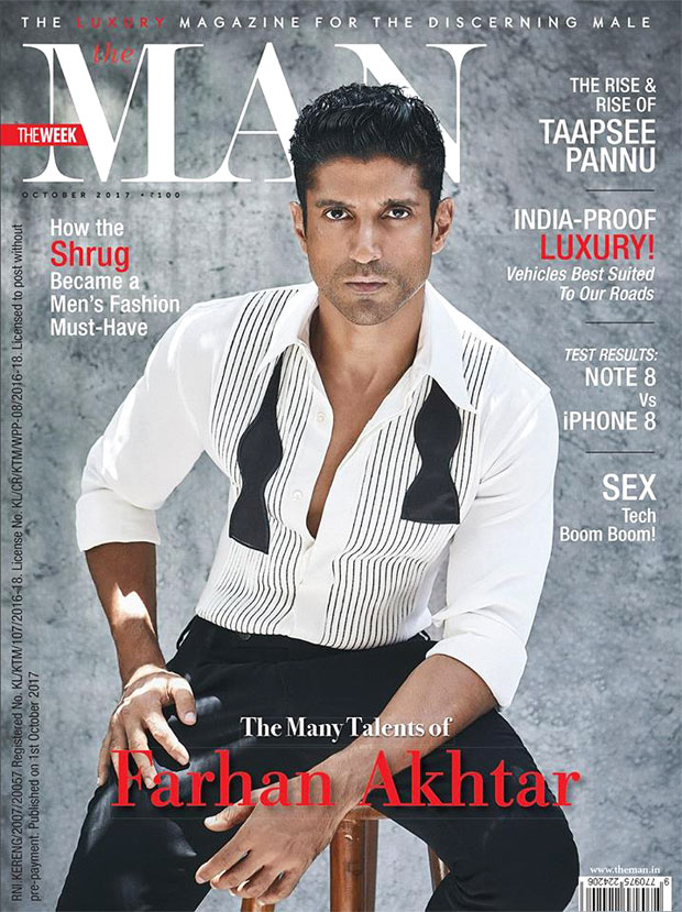 Check out Farhan Akhtar looks dapper and classy on The Man cover
