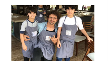 Check out Hrithik Roshan and Sussanne Khan spend Sunday with their boys in cooking classes