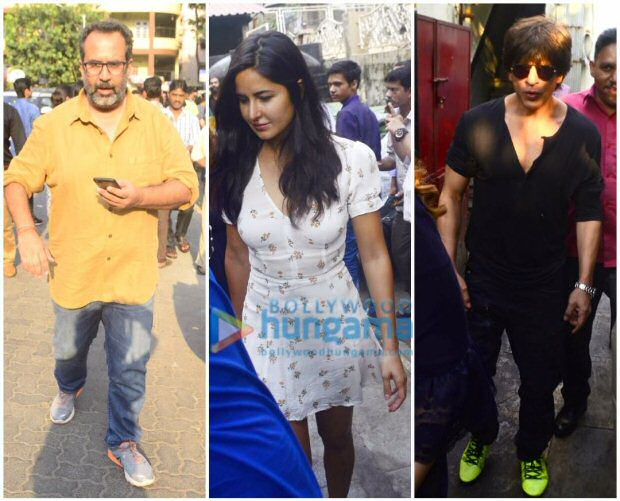 Check out Shah Rukh Khan, Katrina Kaif and Aanand L Rai step out together for lunch4