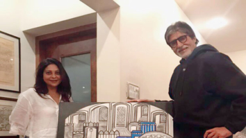 Check out Shefali Shah's special gift to Amitabh Bachchan on his birthday