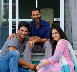 Check out Sushant Singh Rajput and Sara Ali Khan don a wide smile post-Kedarnath schedule wrap up!