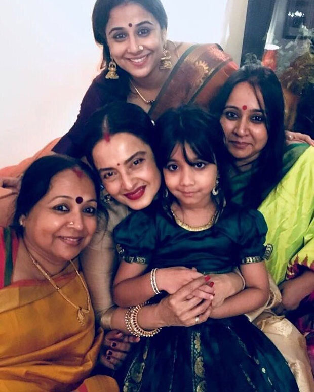 Check out Vidya Balan shares a lovely message on Rekha's birthday