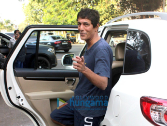 Chunky Pandey spotted at Outters club