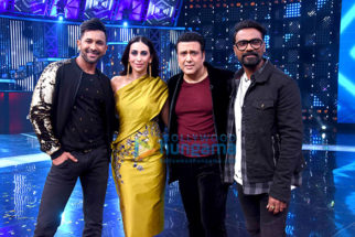 Govinda and Karisma Kapoor on the set of 'Dance Champions'