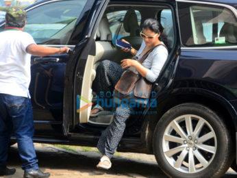 Ekta Kapoor and Kajol spotted in Juhu