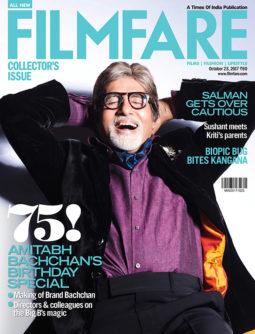 Amitabh Bachchan On The Cover Of Filmfare