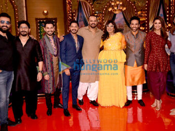 Golmaal Again cast on the sets of Aunty Boli Lagao Boli