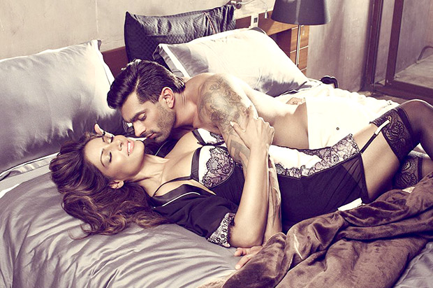 HOT! These sizzling images of Bipasha Basu and Karan Singh Grover from Playgard Condoms ad campaign shouldn't be missed!1