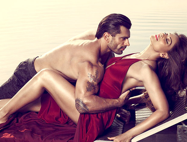 HOT! These sizzling images of Bipasha Basu and Karan Singh Grover from Playgard Condoms ad campaign shouldn't be missed!2