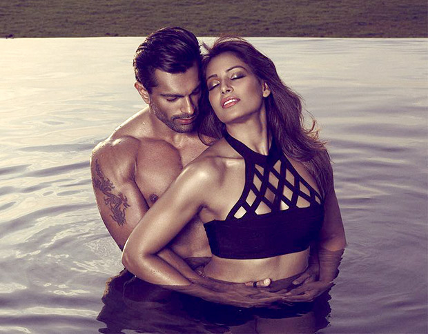 HOT! These sizzling images of Bipasha Basu and Karan Singh Grover from Playgard Condoms ad campaign shouldn't be missed!3