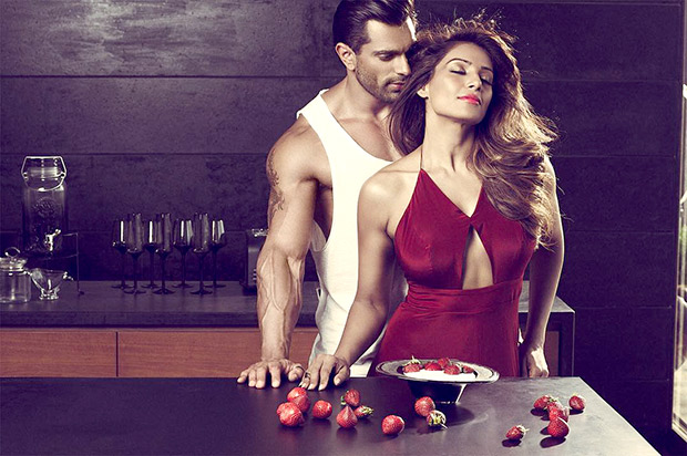 HOT! These sizzling images of Bipasha Basu and Karan Singh Grover from Playgard Condoms ad campaign shouldn't be missed!4