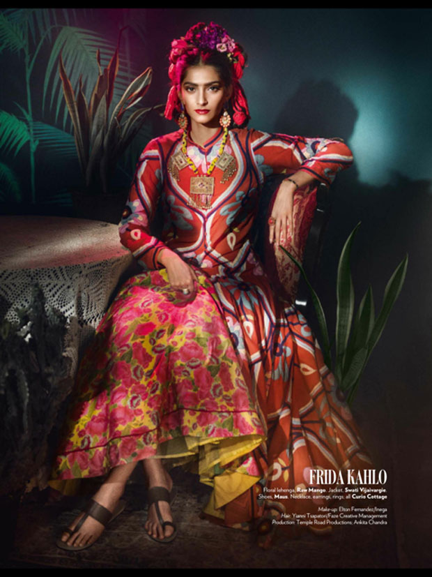 HOTNESS Sonam Kwith stunning photoshoot for Vogue