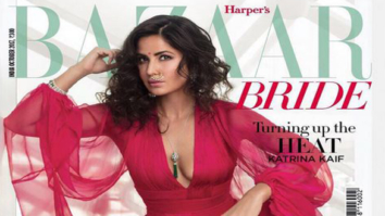 Katrina Kaif On The Cover Of Harper's Bazaar, Oct 2017