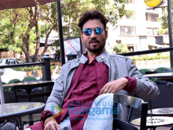 Irrfan Khan goes on a coffee date as part of 'Qarib Qarib Singlle' promotions