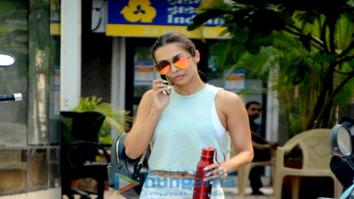 Malaika Arora Khan spotted after a gym session