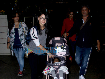 Sunny Leone snapped at the airport