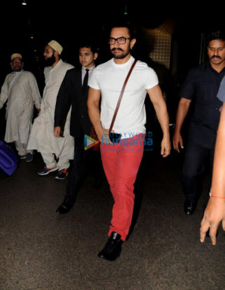 Aamir Khan, Katrina Kaif, Anil Kapoor and Aahana Kumra spotted at the airport