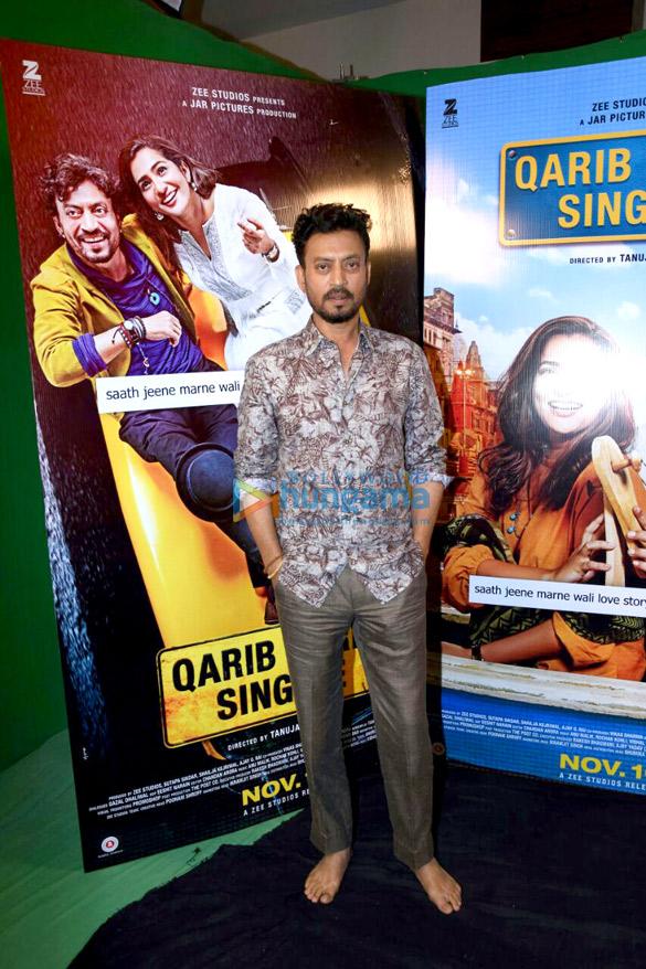 Irrfan Khan promotes 'Qarib Qarib Singlle'