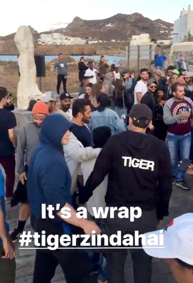 It's a wrap for Salman Khan and Katrina Kaif starrer Tiger Zinda Hai in Greece (2)