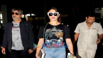 Jacqueline Fernandez, Aahana Kumra, Neha Dhupia and others snapped at the airport