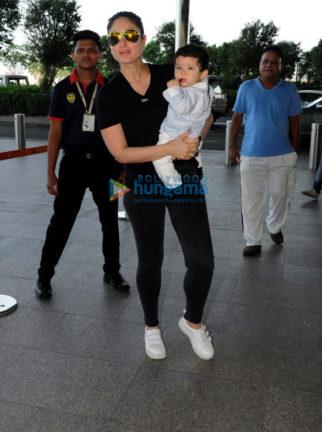 Kareena Kapoor Khan, Daisy Shah and Kalki Koechlin snapped at the airport