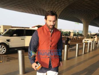 Katrina Kaif and Saif Ali Khan snapped at the airport