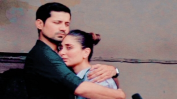 LEAKED PHOTOS Kareena Kapoor Khan and Sumeet Vyas embrace each other during Veere Di Wedding shoot in Delhi