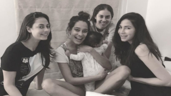Lisa Haydon shares a cutesy baby moment with her sisters and it is adorable!