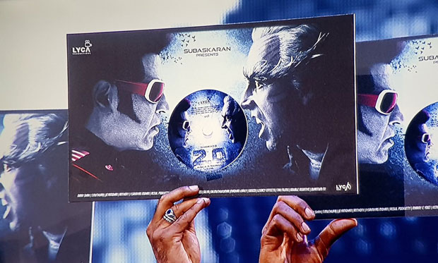 MEGA EVENT – Rajinikanth, Akshay Kumar and others launch the audio of 2.0 with fanfare