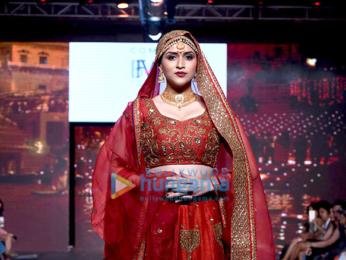 Mannara walks the ramp at the 'India Beach Fashion Week 2017'