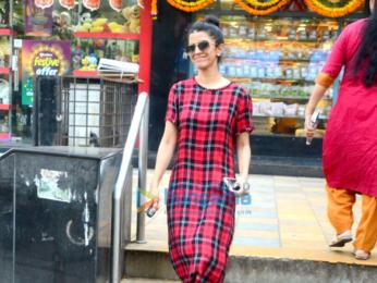 Nimrat Kaur spotted in Bandra