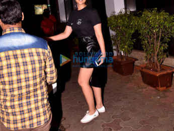 Parineeti Chopra and Nikhil Dwivedi snapped in Bandra