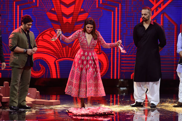 Parineeti Chopra walks on fire during the promotions of Golmaal Again-1