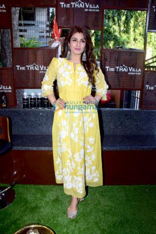 Raveena Tandon snapped at The Thai Villa